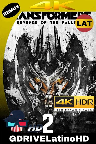 Transformers: La Venganza De Los Caídos (2009) BDREMUX 2160P 4K HDR Latino-Español-Ingles MKV