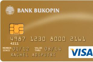 Kartu Kredit Bukopin Visa Gold Review Spesifikasi