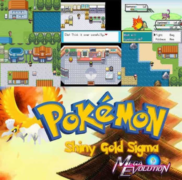 Pokemon Shiny Gold Rom Screenshots