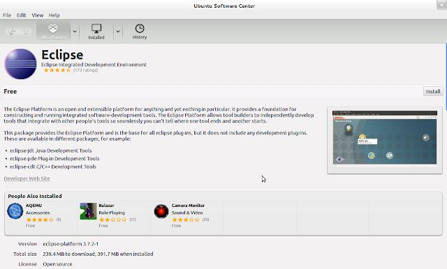eclipse juno 4.2 for ubuntu 12.04