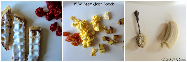Baby Led Weaning breakfast foods