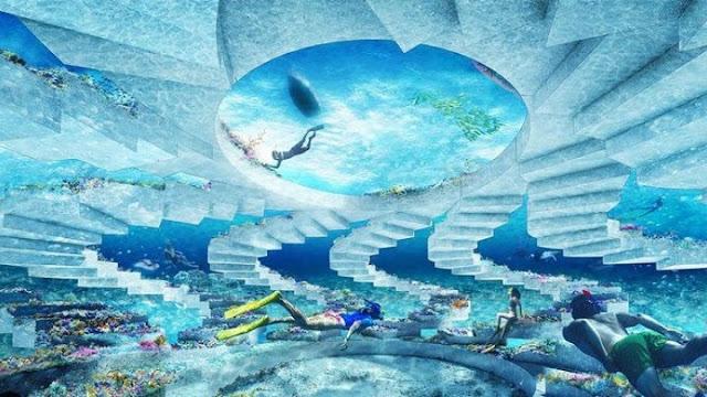 Μαϊάμι Μπιτς: Υποθαλάσσιο πάρκο με γλυπτά