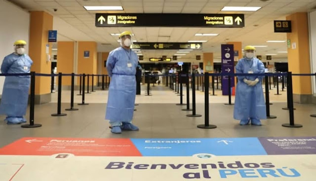 Perú reinicia hoy vuelos internacionales a siete países
