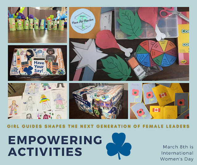 March 8th is International Women's Day: Girl Guides shapes the next generation of female leaders