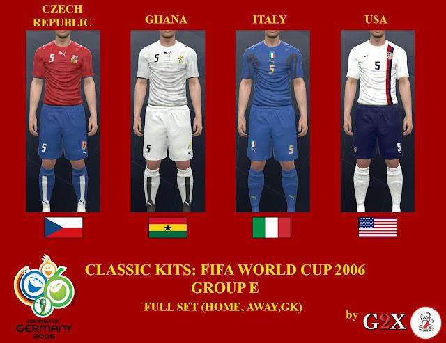 PES 2017  PC PS4  World Cup 2006 Group E Kits-Pack 1f3b334b9