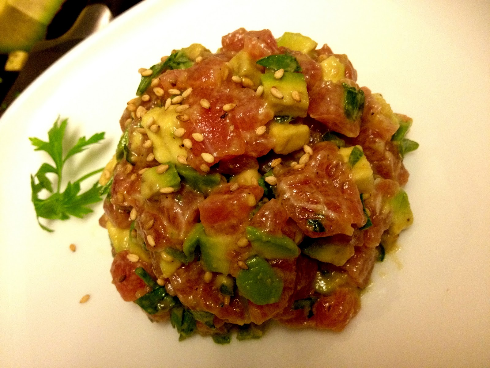 Karen S Daily Bites Tuna Tartare Steaks Amp Merchants