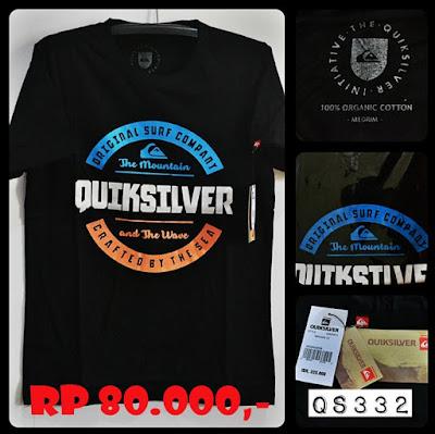 Kaos Distro Surfing Skate QUIKSILVER Premium Kode QS332