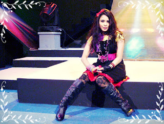 Tisma Bangladeshi Pop Singer In a Televison Show