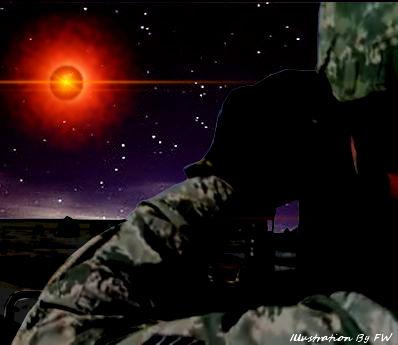 UFO Over November LF (Silo)