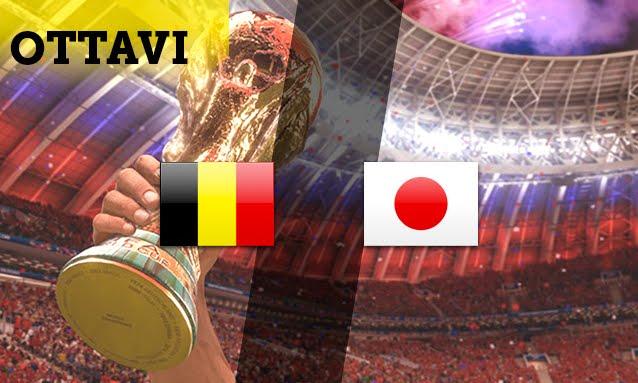 Mondiali 2018: BELGIO vs GIAPPONE Streaming e Diretta TV su Canale 5