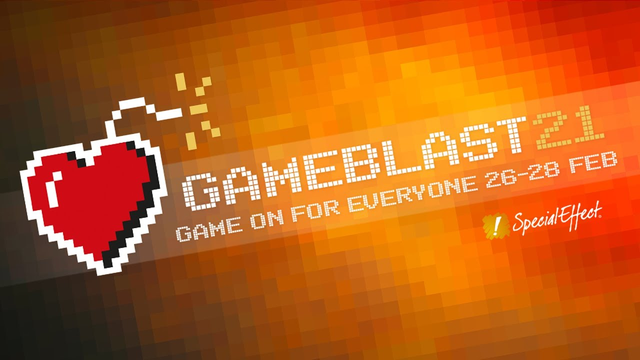 GameBlast21: Industry joins community for SpecialEffect's vital fundraising weekend