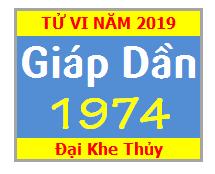 Tử Vi Tuổi Giáp Dần 1974 Năm 2019 Nam Mạng - Nữ Mạng