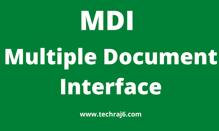 MDI full form, what is the full form of MDI