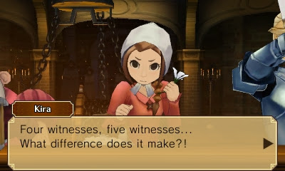 Professor Layton vs. Phoenix Wright Kira Hillary Rodham Clinton what difference does it make tesimony