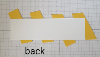 Hand-Penned twisted ribbon border technique Stampin Up