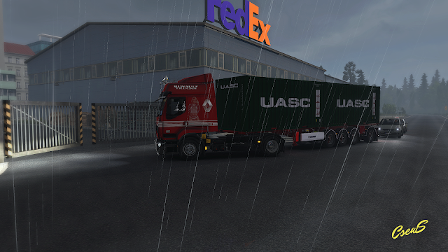 ets 2 animated gates in companies v3.0 screenshots 3
