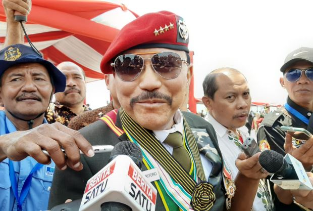 Hendropriyono: People Power Berhasil Kalau Marinir dan Angkatan Darat Terlibat