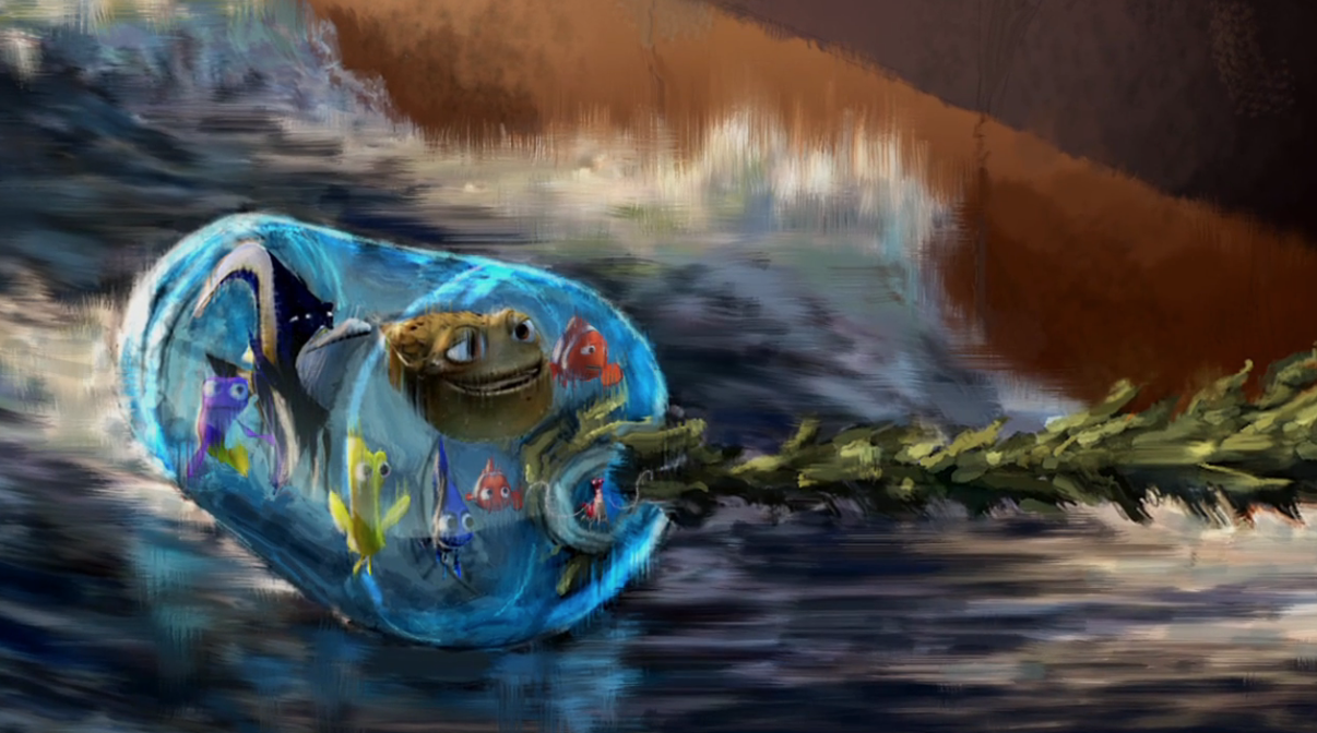 new  finding dory  deleted scene showcases the ingenuity Finding Nemo Clip Art finding dory clip art free