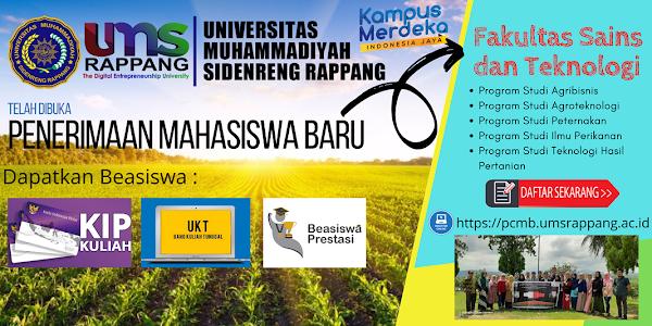Fakultas Sains Dan Teknologi Universitas Muhammadiyah Sidenreng Rappang