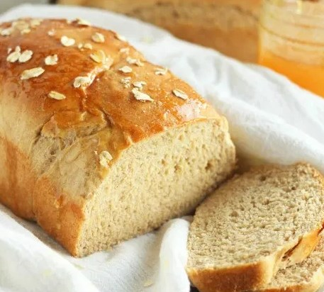 WHOLE WHEAT OATMEAL HONEY BREAD #favoritemeal #sandwiches