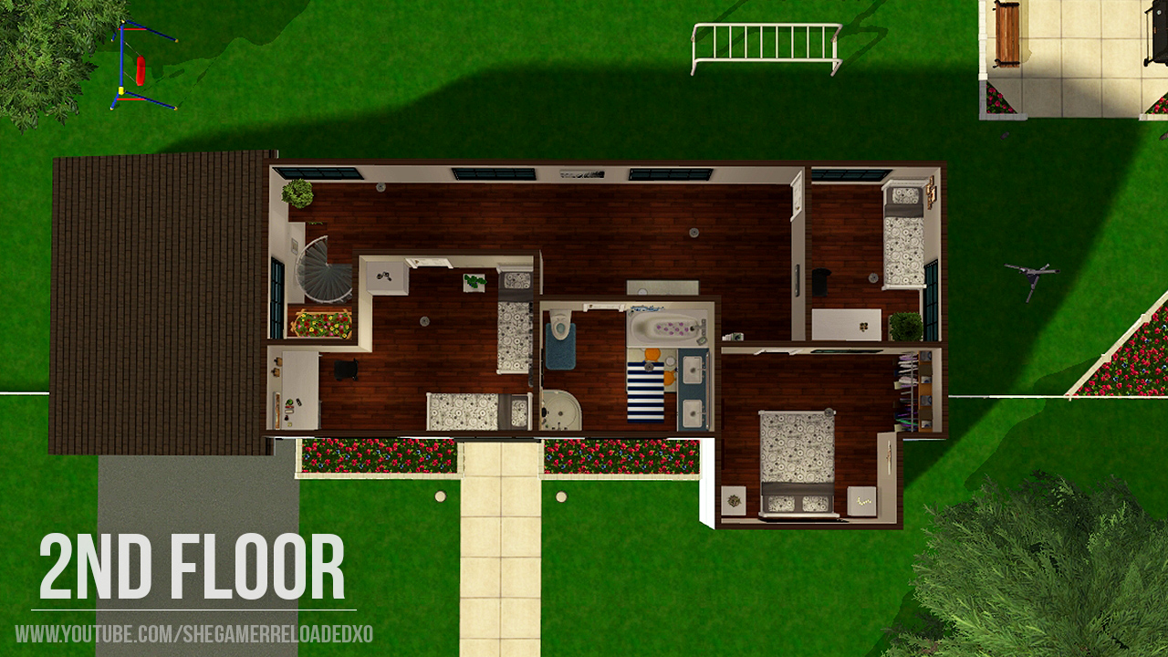 Ranch retreat maxis makeover shegamerxo for Floor 6 reloaded