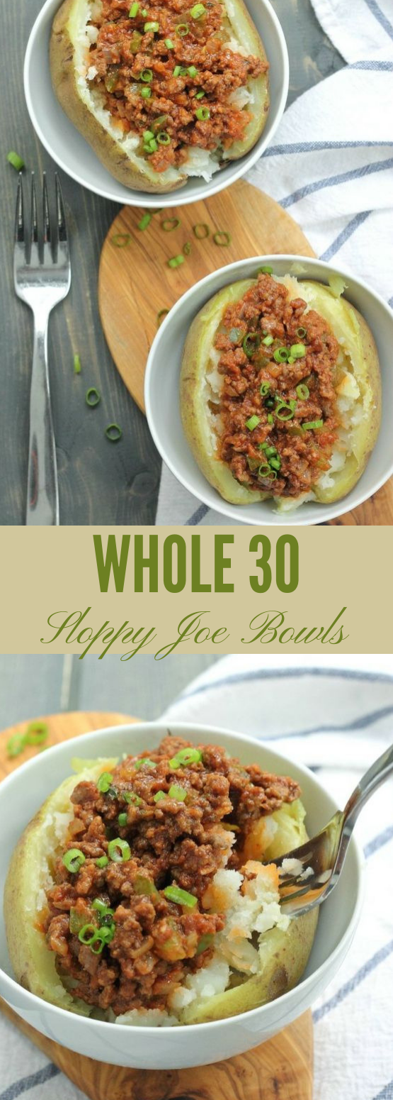 Whole30 Sloppy Joe Bowls #dinner #healthy