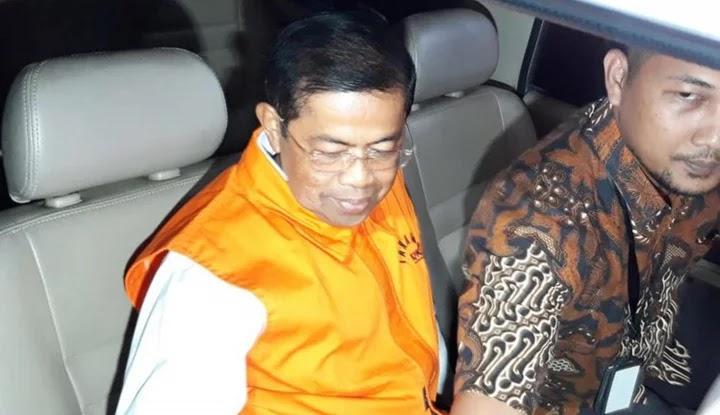 Mantan Sekjen Golkar Idrus Marham Resmi Bebas dari Penjara