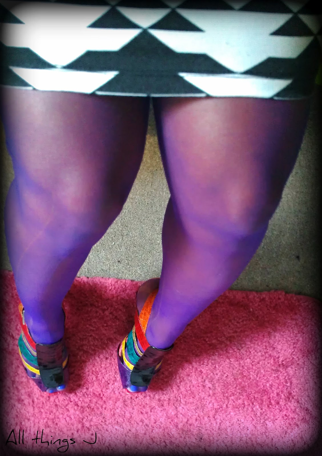 Pattern Sheer Pantyhose Quick Look 51