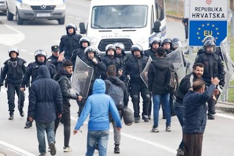 Horvátországon keresztül juthat a legtöbb migráns Nyugat-Európába