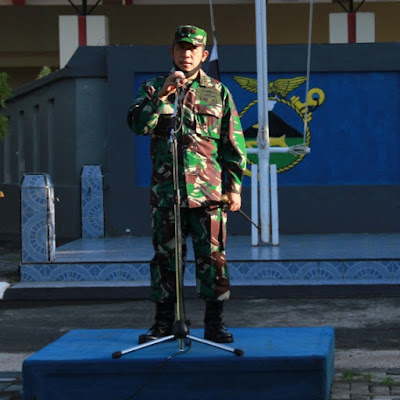 Komandan Lanal Mataram Kolonel Laut (P) Suratun. S.H