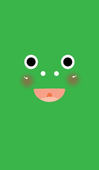 Cute frog theme v.1