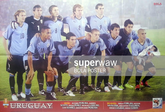 URUGUAY TEAM SQUAD WORLD CUP 2010