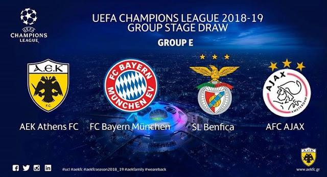 Prediksi AEK Athens FC vs Benfica 3 Oktober 2018 Liga Champion Eropa Pukul 02.00 WIB