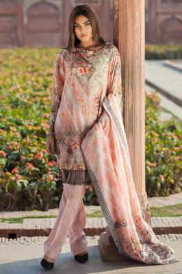 Mausummery new pakistani unstitch lawn dresses 2017
