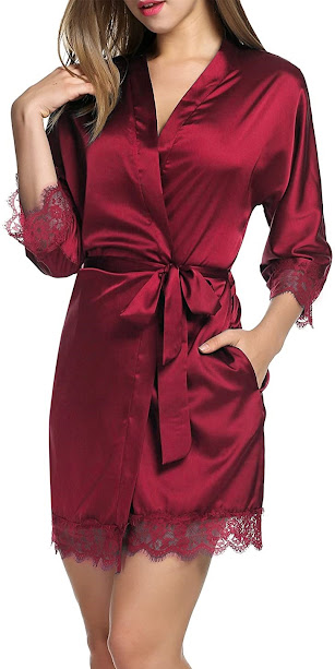 Best Red Satin Robes For Women