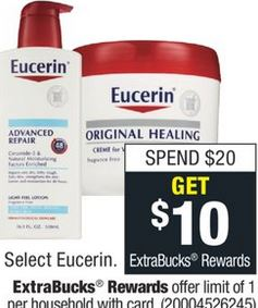 Eucerin Baby Wash CVS Freebie Deal 11-3-11-9