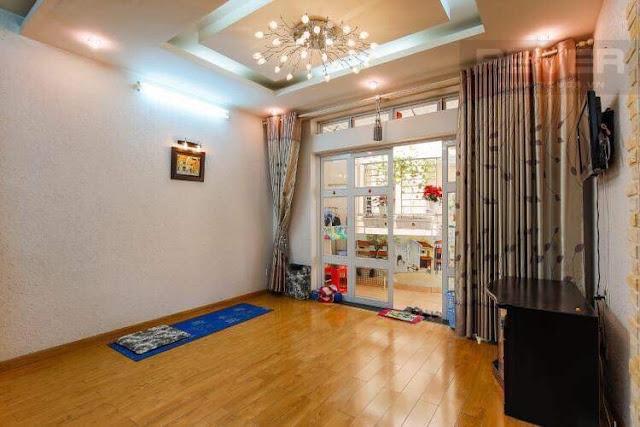 Ảnh thực tế chung cư Khánh Hội 2, bán căn hộ 2 phòng ngủ.