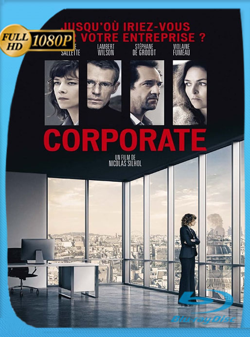 Corporate (2017) HD 1080p Latino [GoogleDrive] [tomyly]