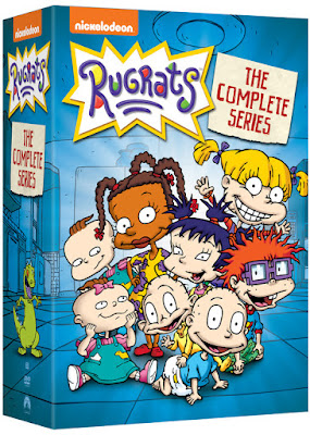 rugrats dvd, 90s TV shows, rugrats complete dvd, rugrats complete series