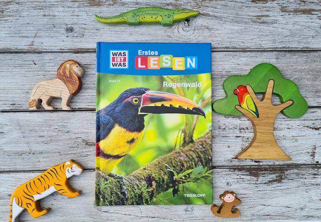 WAS IST WAS Erstes Lesen: Spannende Sachbücher für Leseanfänger. Das Sachbuch Regenwald vermittelt auf mitreißende Art wissen und ist dabei einfach und verständlich geschrieben, damit Kinder der 1., 2. und 3. Klassen es gut selbst lesen können.