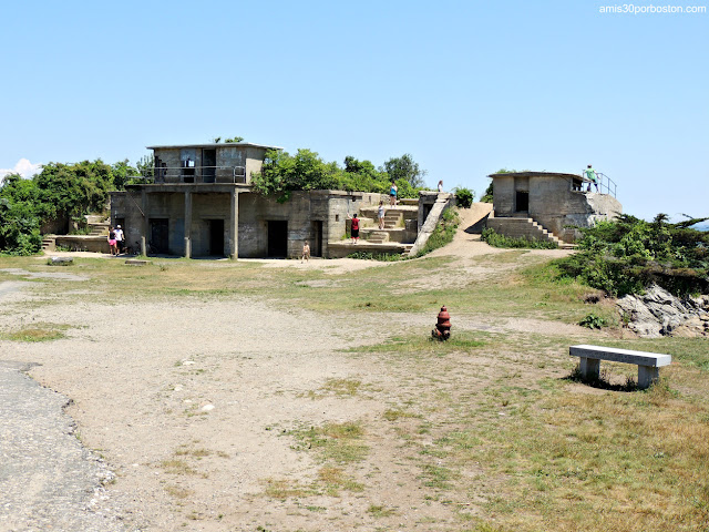 Battery Keyes en Fort Williams, Maine