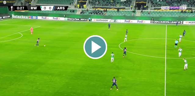 Rapid Wien vs Arsenal Live Score