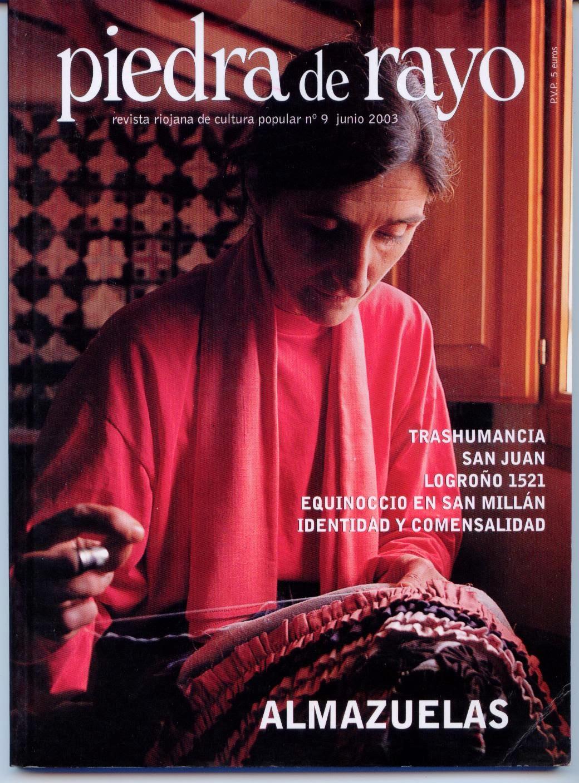 """""""Piedra de Rayo. Revista Riojana de Cultura Popular""""."""