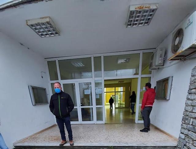 Δειγματοληπτικά test στην Τ.Κ. Κάστρου από την ομάδα διαχείρισης Covid -19 της Περιφέρειας Στερεάς Ελλάδας
