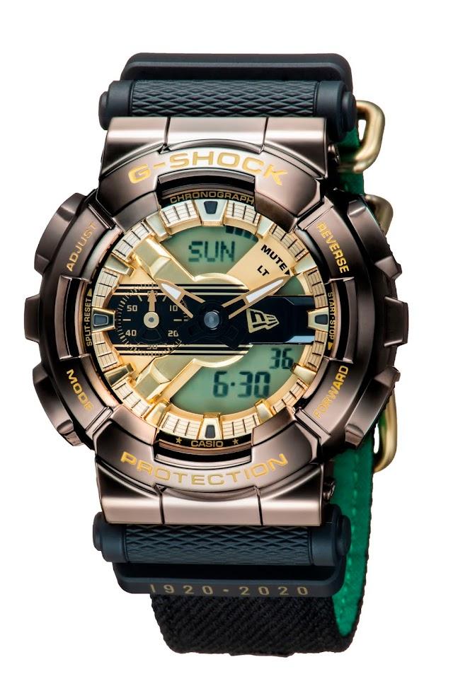 G-Shock celebra 100 años de New Era con esta edición especial.