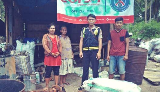 Rutin Kunjungi Warga, Ini Pesan Bhabinkamtibmas, Bonto Tangnga
