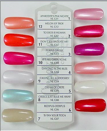 Timtam Opi Greek Isles Collection Spring 2004