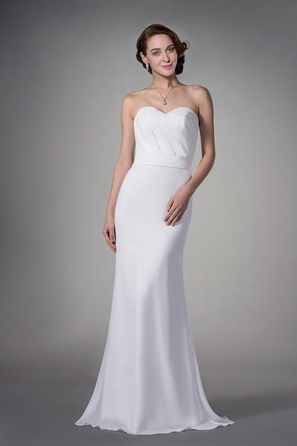 vestido para casamento no civil longo