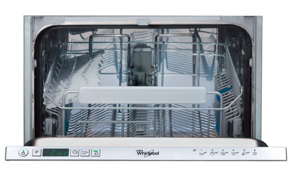 Masina de spalat vase incorporabila Whirlpool ADG 301, 10 Seturi, 6 Programe, 45 cm, Clasa A+, LED, Optiune programare intarziata