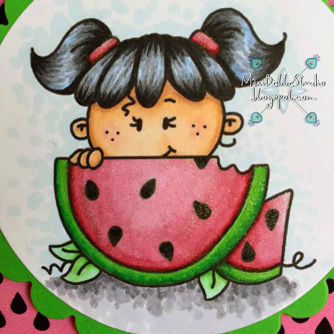 Bugaboo Stamps Summer Peakers Watermelon